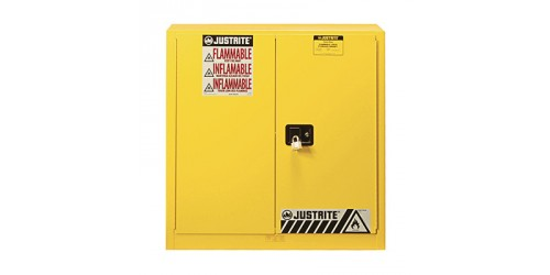 Cabinet de rangement inflammable