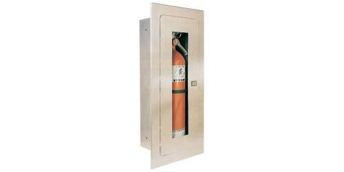 Cabinet encastré pour extincteur 10 lb